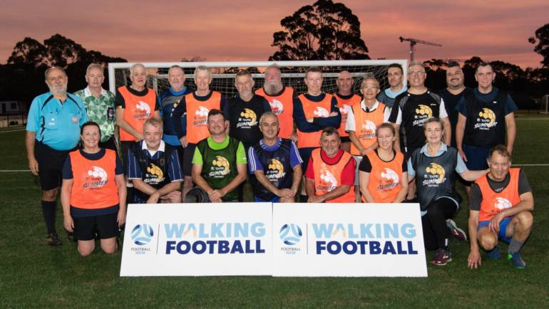 Walking Football Comes to NSFA!